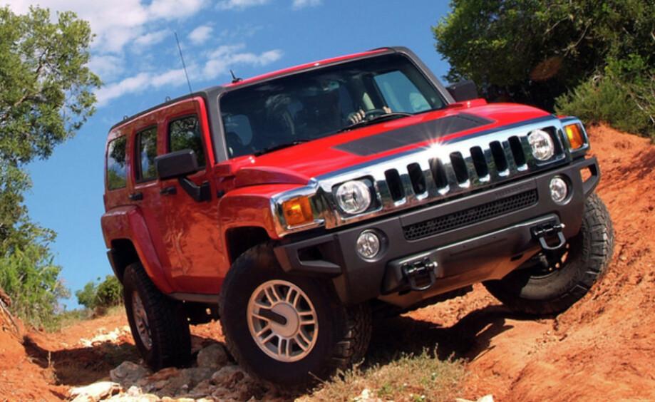 EL-HUMMER? General Motors vurderer å elektrifisere Hummer for å få en fot innenfor offroad-markedet. Foto: General Motors