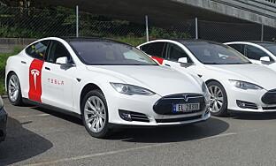 MOBILE SERVICE: Tesla sender ut mobile teknikere til kunder ved behov. Foto: Christina Honningsvåg