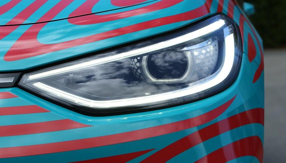 """FOD: Bilen for støtte for """"funtions on demand"""", der du kan låse opp funksjoner mot et gebyr, deriblant lysfunksjoner. Foto: Martin Meiners"""