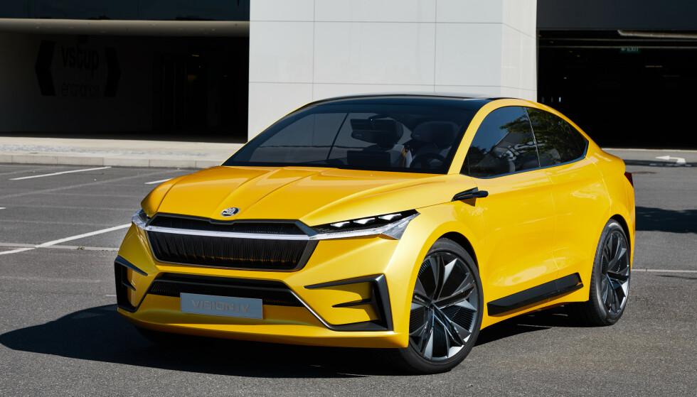 Massiv: Bilen har en massiv tilstedeværelse, og et sporty utseende.