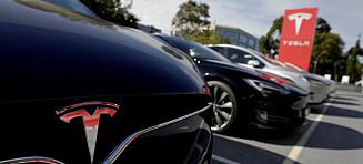 Dyrere å kjøpe Tesla