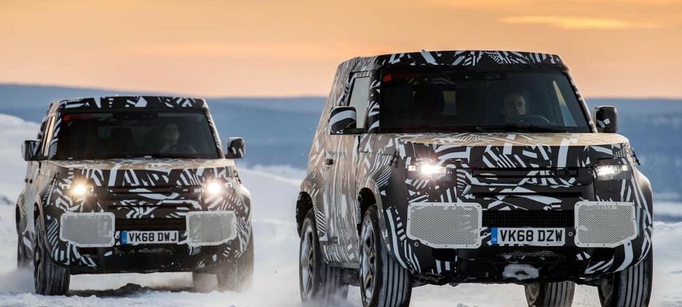 Land Rover på hydrogen