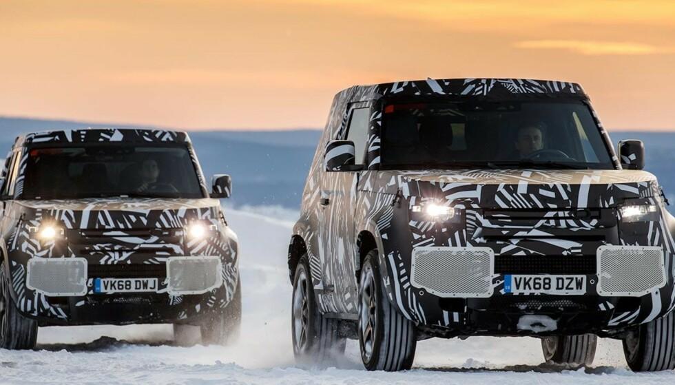 Hydrogen: Jaguar Land Rover skal utforske hydrogen som energibærer for sine tyngre kjøretøy.