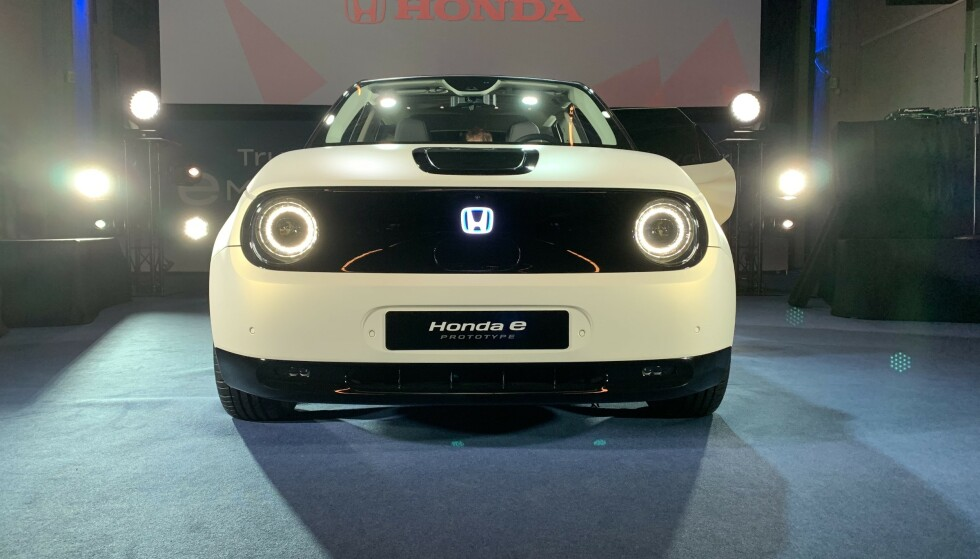 KOMMER: Det er mer i vente fra Honda enn den viste Honda e. Foto: Christina Honningsvåg
