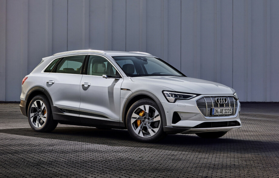 LILLEBROR: Audi e-tron 50 kommer på markedet i tredje kvartal. Foto: Audi