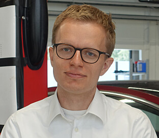 Kommunikasjonssjef i Tesla Norge, Even Sandvold Roland. Foto: Christina Honningsvåg