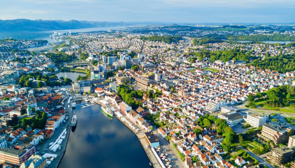 VANT: Stavanger vant prisen Norges Elbilhovedstad 2019. Foto: NTB Scanpix