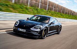 Porsche Taycan - endelig prøvekjørt
