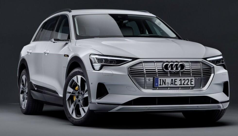 KOMMER: Audi e-tron 50 quattro kan leveres allerede før nyttår. Foto: Audi