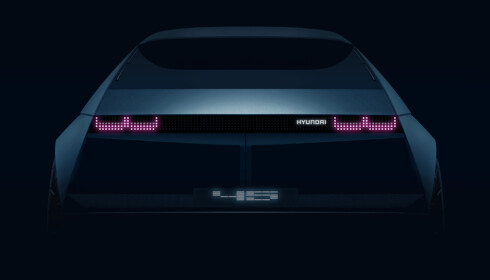 45: Hyundai viser 70-talls inspirert konseptbil. Foto: Hyundai.