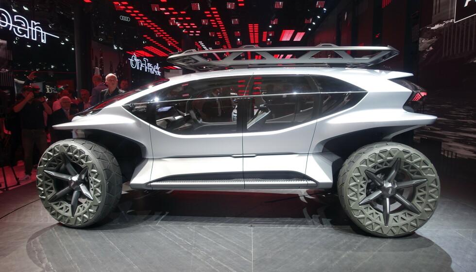 AI:Trail: Elektrisk offroader fra Audi ble vist under Frankfurt motor show 2019: Foto: Fred Magne Skillebæk