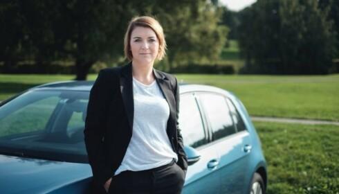 FINNES LØSNINGER: Generalsekretør i Norsk Elbilforening, Christina Bu, tror ikke på et generelt forbud. Foto: Elbilforeningen
