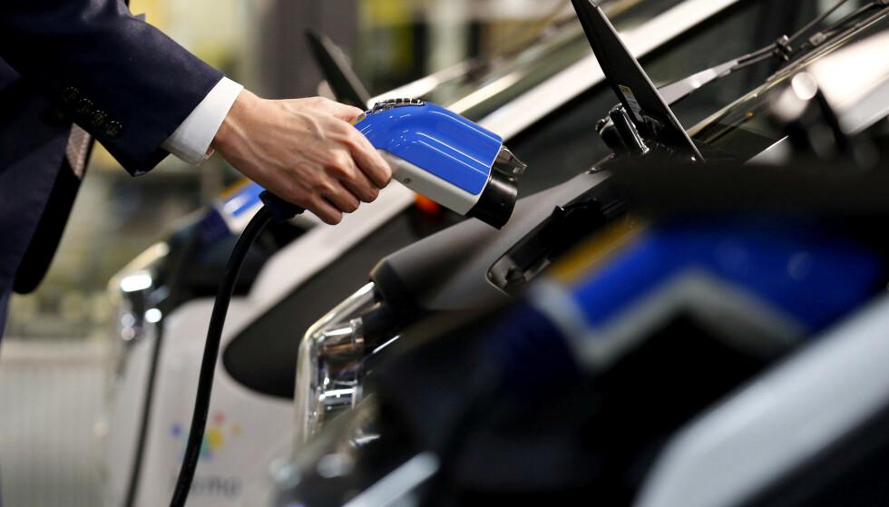 FASTSTOFF: Ny batteriteknologi skal gjøre lading av elbil til en betydelig raskere affære. Foto: Reuters