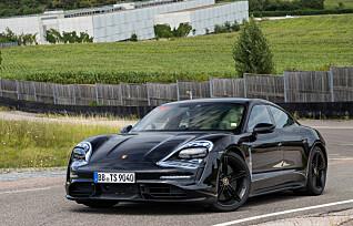 Porsche tilbyr ekstra sportslyd i Taycan