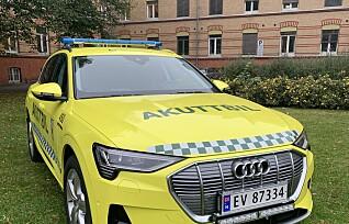 Norges første elektriske akuttbil