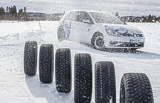 Her er sesongens beste og dårligste vinterdekk