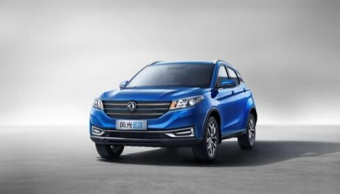 <strong>NY SUV:</strong> El-SUV'en fra kinesiske DFSK kommer til neste år. Foto: produsenten.