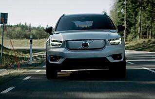 Her er Volvos første elbil