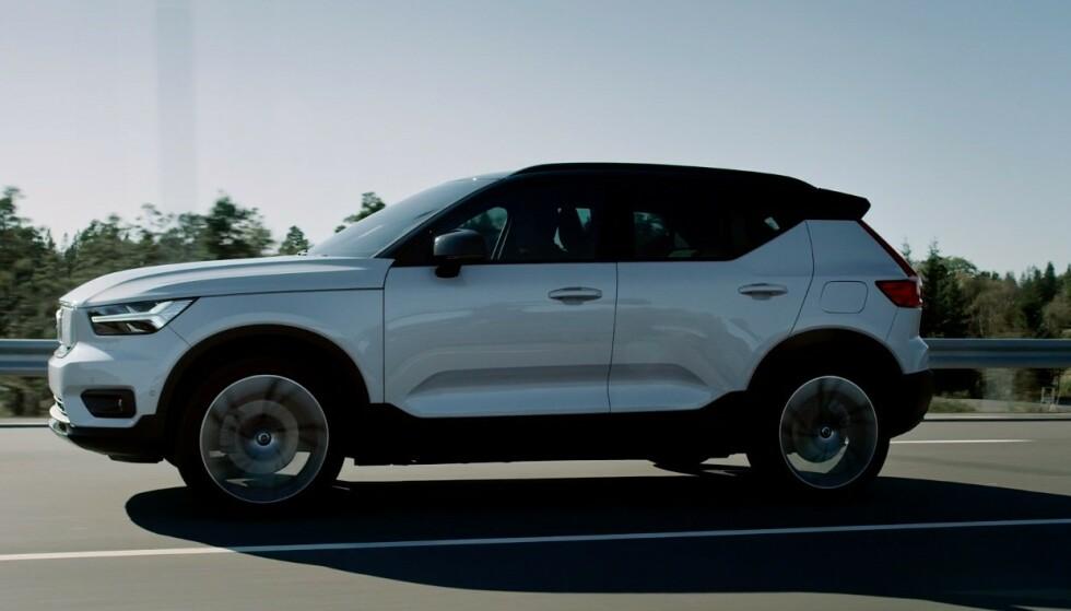 SUV: Volvos første helelektriske bil er en SUV. Foto Volvo