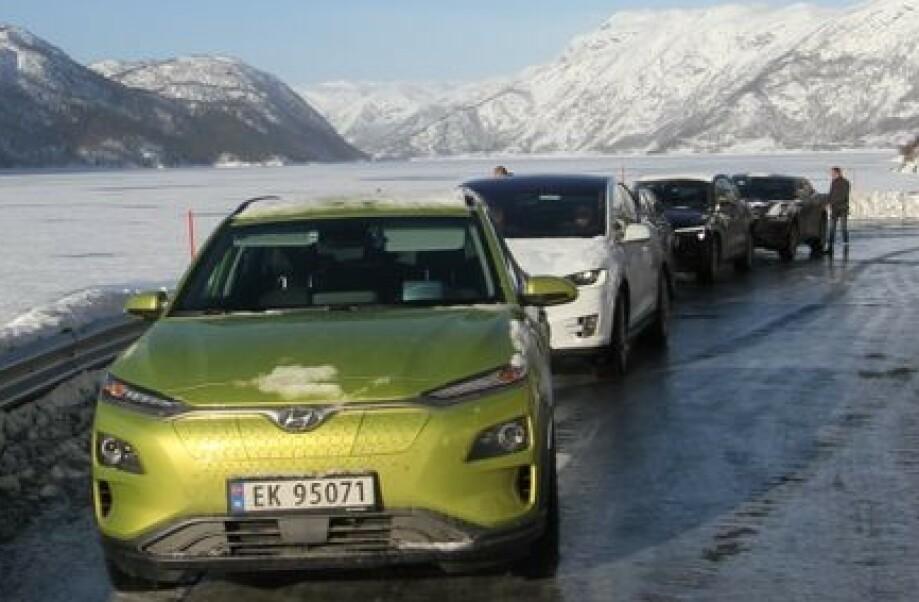 VINTERTIPS: Men noen enkle tips kan du unngå begrenset rekkevidde på vinterstid. Foto: Norsk elbilforening