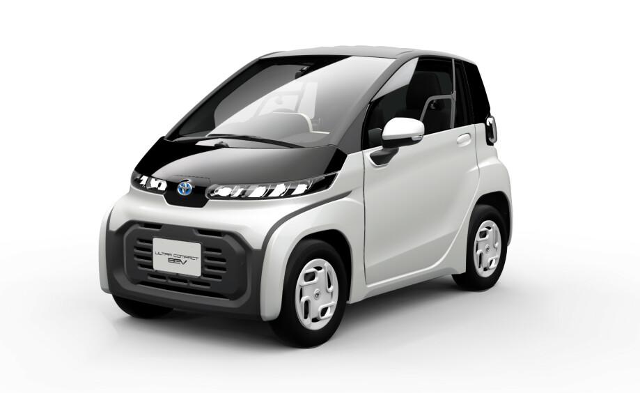 ULTRAKOMPAKT: Toyota lansere liten kompakt toseter for å møte fremtidens bybehov. Foto: Toyota