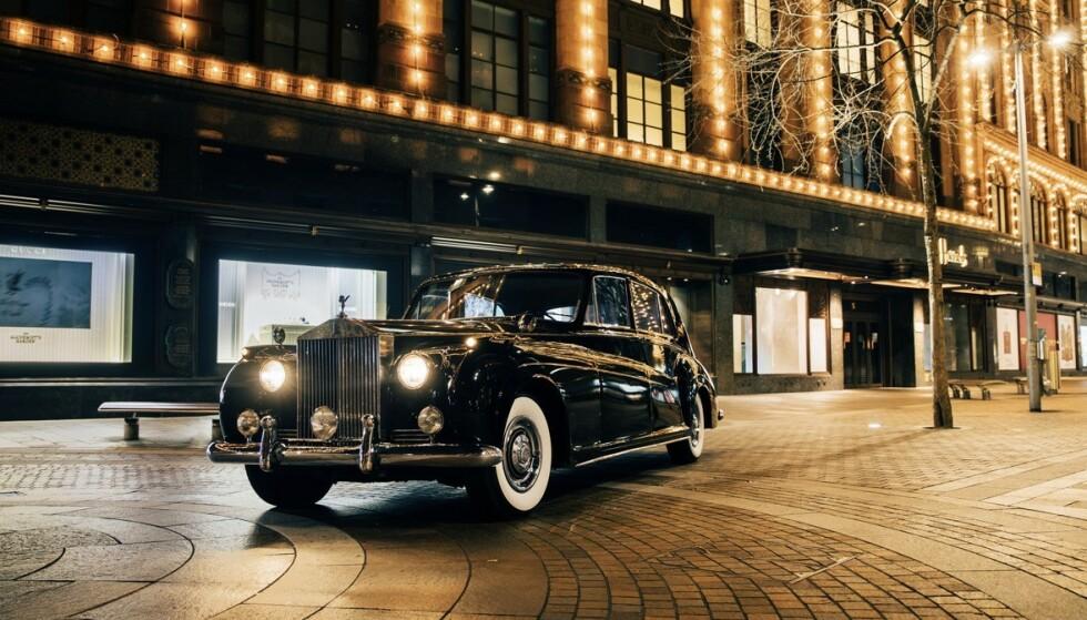 EL-FANTOM: Rolls Royce Phantom i hel-elektrisk drakt. Foto: Lunaz