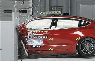 Tesla Model 3 får sikkerhetspris