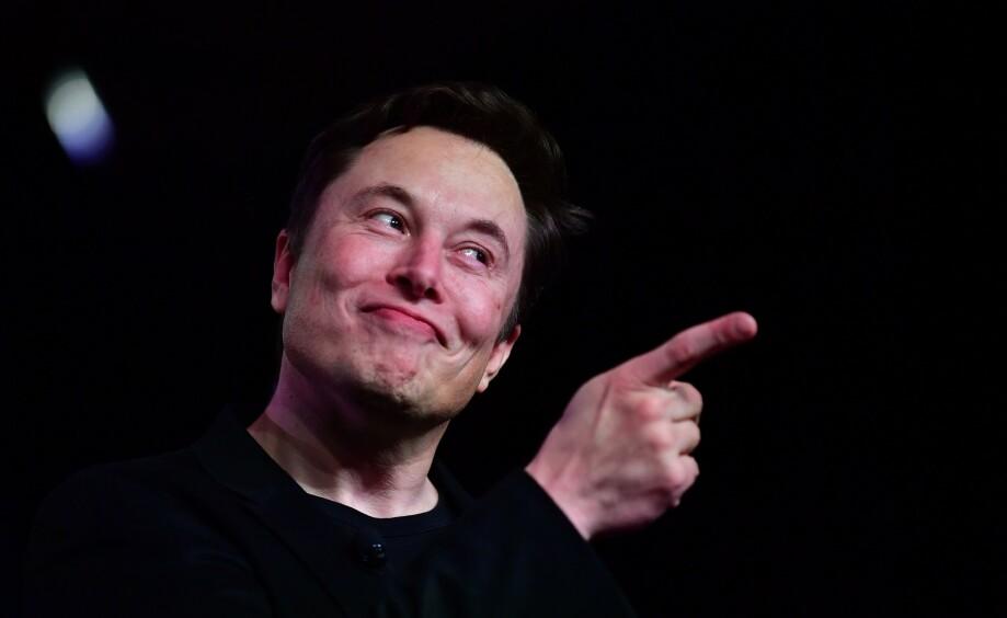 LER SIST, LER BEST: Foreløpig er det Elon Musk som kan bruke uttrykket, men Tesla-aksjen er svært volatil. Foto: Frederic J. Brown / AFP