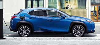 Elektrisk Lexus fra ca. 350.000