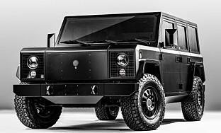 SUT: Bollinger B1 Sports Utility Truck. Foto: Produsenten