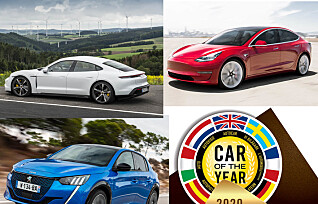 En av disse elbilene kan bli Årets Bil i Europa