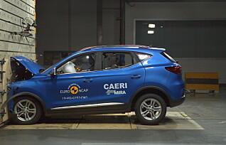 MGs nye elbil viser seg kollisjonssikker i ny test