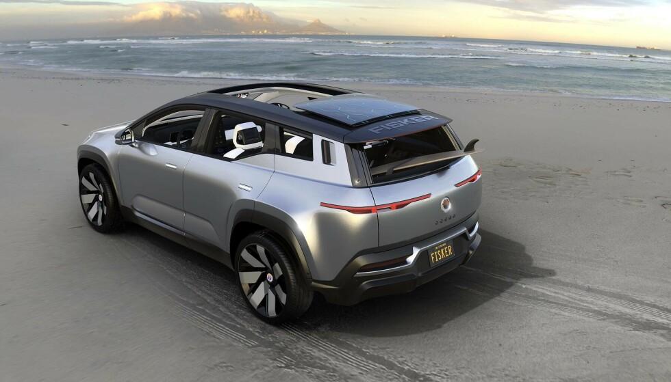 KOMMER I ÅR: Fisker Ocean er en av bilene som kommer på markedet i år. Foto: Produsenten