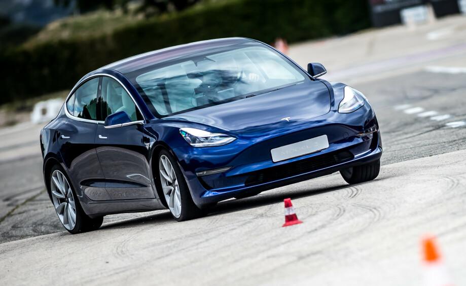 FLEST SKADER: Tesla troner toppen av skadestatistikken for andre året på rad. Foto: Tesla