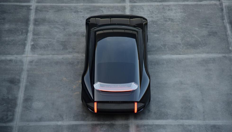 SPESIELL: Fra denne vinkelen minner den om lite annet enn seg selv. Foto: Hyundai