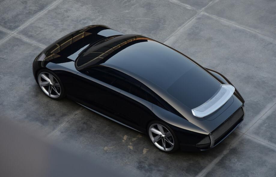 SPORTSKONSEPT: Hyundai Prophecy skal være selskapets eksempel på deres nye designspråk. Foto: Hyundai