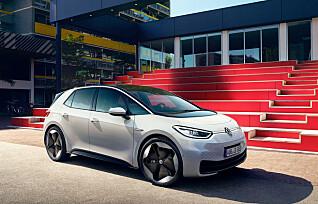 VW øker prisene på ID.3