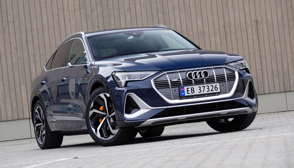 STORSELGER: Audi e-tron ble månedens mest registrerte elbil også i mars. Foto: Fred Magne Skillebæk