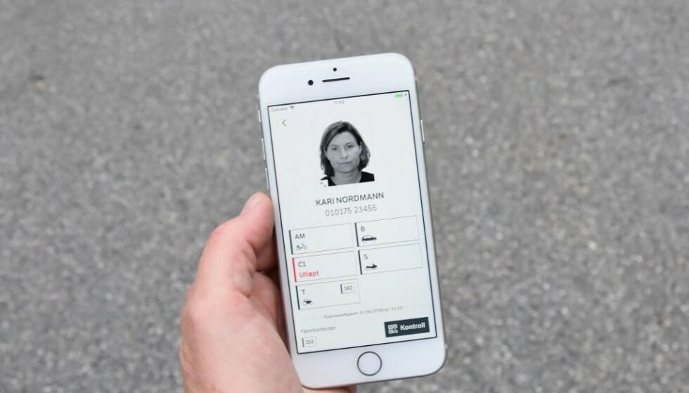 Digitalt førerkort ble lansert 1. oktober 2019 og har nå over 1,3 millioner brukere. Foto: Statens vegvesen.