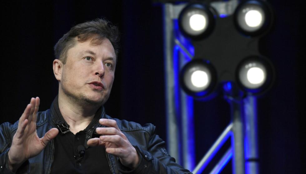 <strong>BATTEY DAY:</strong> Elon Musk slapp mange av sine tanker og ideer under denne ukens Battery Day. Foto: AP Photo/Susan Walsh