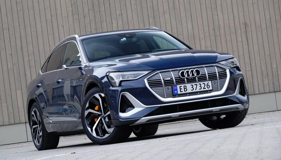 MEST SOLGT: Audi e-tron ble landets mest solgte bilmodell i 2020.