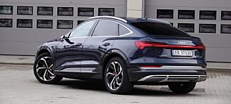 Audi e-tron fortsatt mest populær