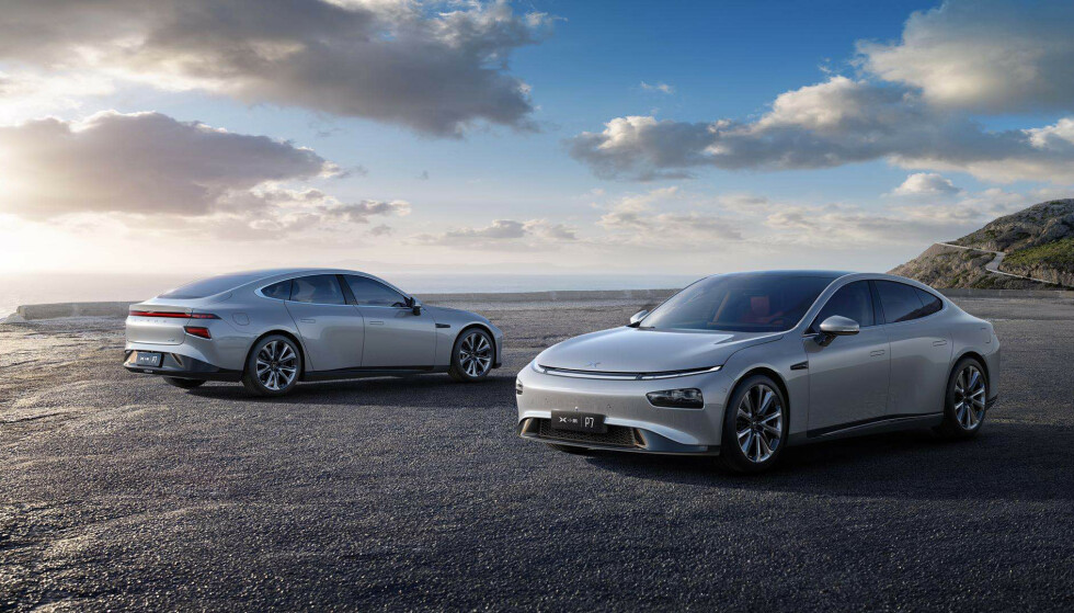 <strong>Xpeng P7:</strong> Presser Tesla Model 3 ned i pris. Foto: Xpeng