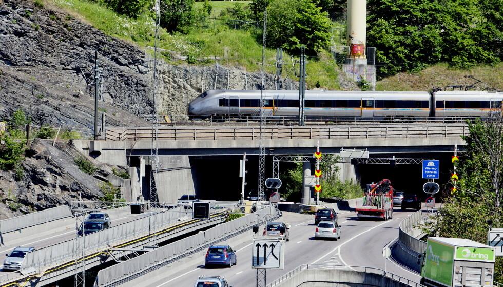 Vålerengatunnelen i Oslo skal oppgraderes. Foto: Stian Lysberg Solum / NTB scanpix