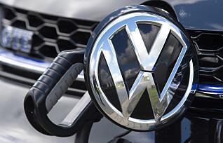 VW e-Golf på topp