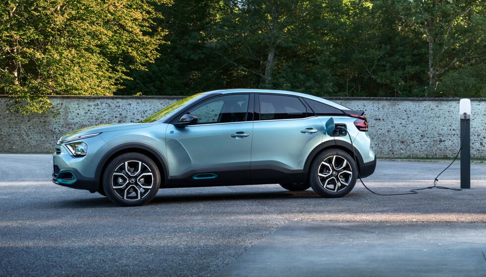 KOMPAKTKLASSEN: Citroens nye elbil havner i kompaktklassen, også kalt Golf-klassen. Foto: Citroën