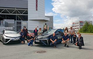 Hamstret hydrogenbiler - satser på «hjemmelaget» drivstoff