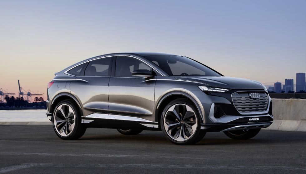 <strong>SUV ELLER COUPÉ:</strong> Antagelig er Crossover et riktigere navn. Foto: Audi