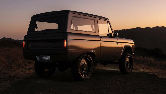 KLASSISK: Designen er umiskjennelig Bronco. Foto: Zero Labs