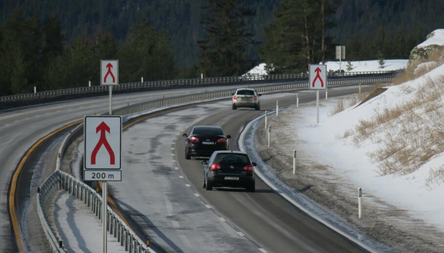 Økt vedlikehold av veiene er nødvendig, mener NAF. Foto: Paul Kleiven / NTB scanpix